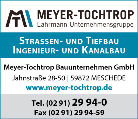 Bauunternehmen Ochtrup meyer tochtrop bauunternehmen gmbh meschede bau kanal straße bagger