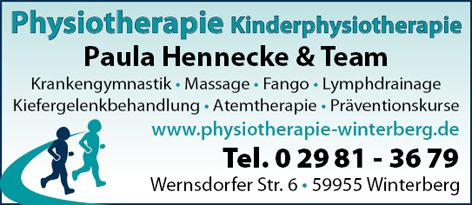 Hennecke Paula & Team Physiotherapie